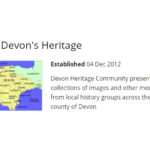 Feature eHive community – Devon's Heritage